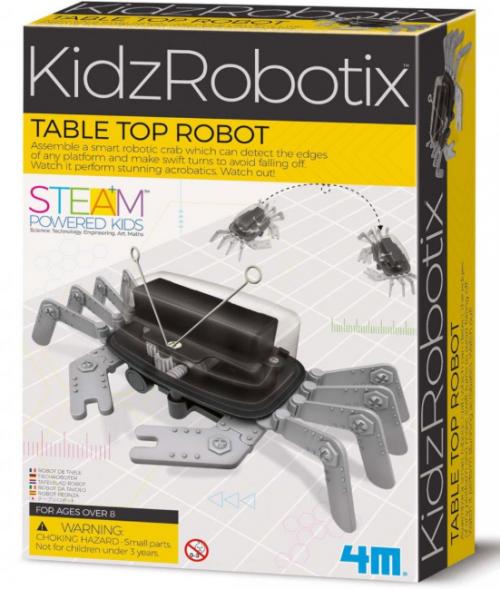 מעבדת ילדים - רובוט חיישן שולחן