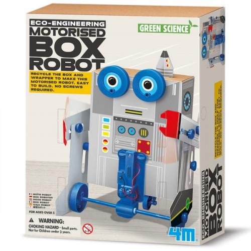מעבדת הילדים -ערכת מדע ירוקה - רובוט קופסא