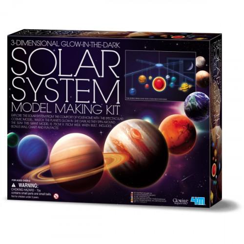 מעבדת הילדים -   מובייל מערכת השמש תלת מימדי