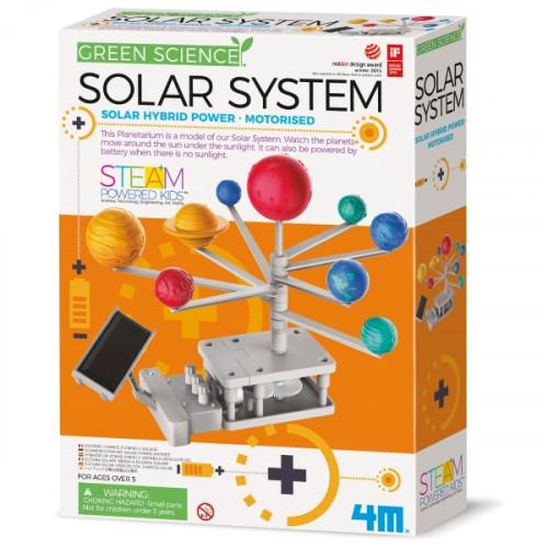 מעבדת הילדים - מערכת השמש היברידית - סולרית