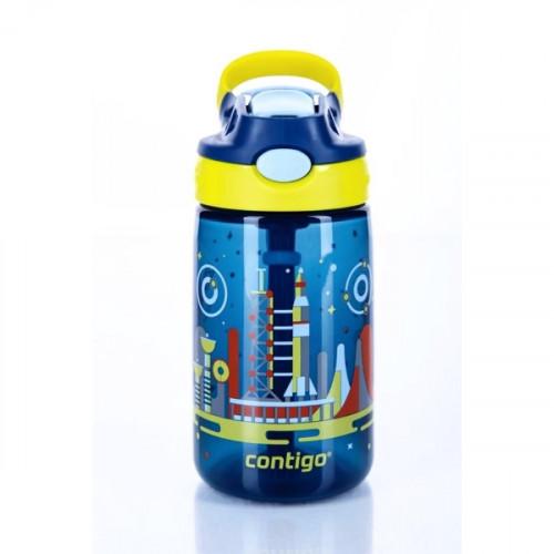 בקבוק שתייה לילדים כחול חלל CONTIGO Gizmo Flip 420 מ