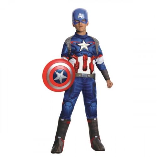 תחפושת קפטן אמריקה שרירי דלוקס הנוקמים של חברת רוביס