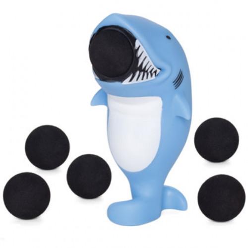 Squeeze Popper בובה מטורפת יורה כדורים -כריש
