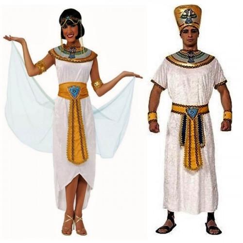 תחפושת זוגית מלך ומלכה מצריים למבוגרים של חברת רוביס