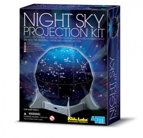 מעבדת הילדים - מנורת לילה מפת הכוכבים