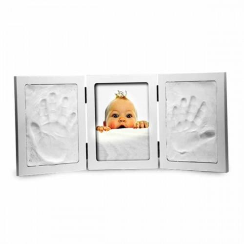 מסגרת משולשת להטבעת כף יד של תינוק