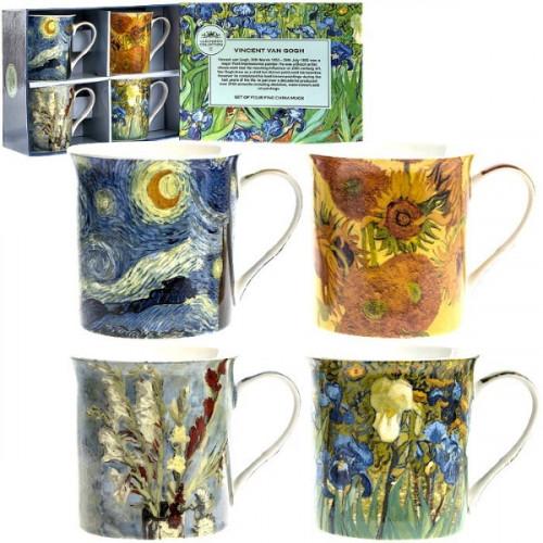 רביעיית ספלי ואן גוך Van Gogh