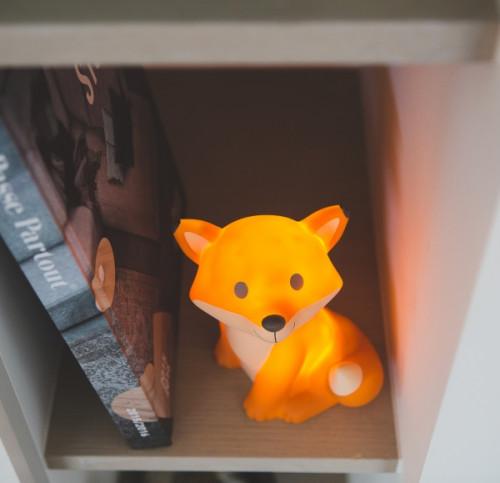 Cesar fox מנורת לילה שועל -