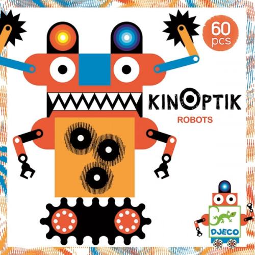 קינופטיק  - הולוגרמה בתנועה רובוטים DJECO