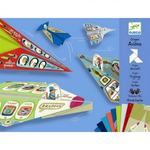 ערכת יצירה - אוריגמי מטוסים DJECO