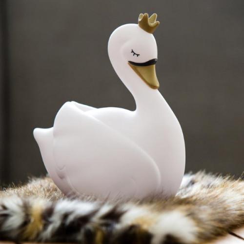 קופת חיסכון - ברבור מלכותי לבן