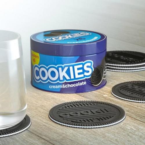 תחתיות לכוסות עוגיות