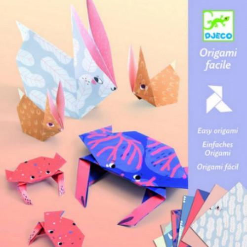 יצירה אומנות הקיפול - אוריגמי משפחה DJECO