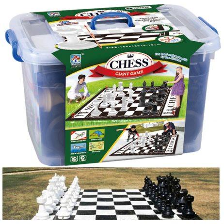 משחק שחמט/דמקה ענק לחצר