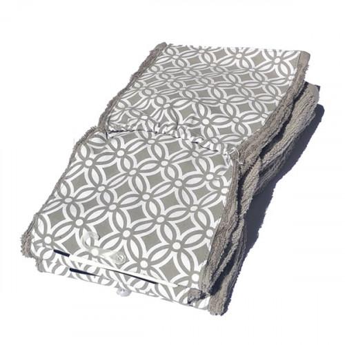 SMART TOWEL המגבת עם הכיסים - אפור