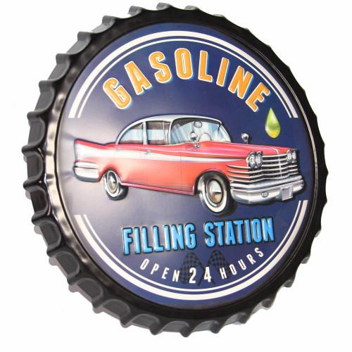 תמונה לקיר מכונית בפקק בירה