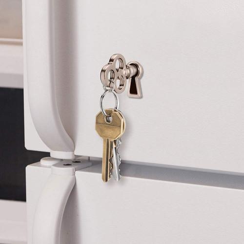 מחזיק מפתחות מגנטי בעיצוב מפתח וינטאג' -  MagicKey
