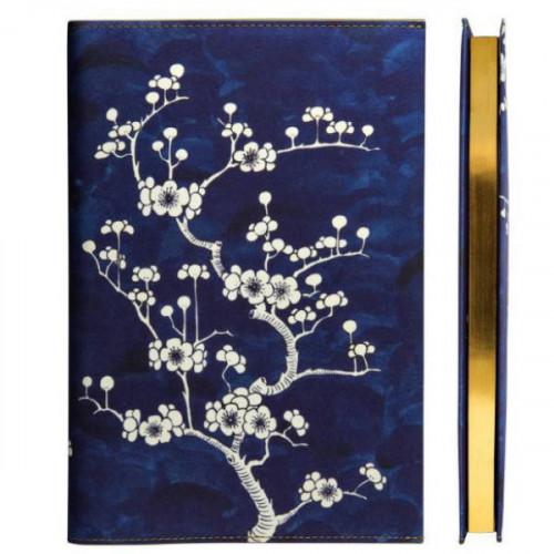 מחברת Flower Wow Ceramic Blue