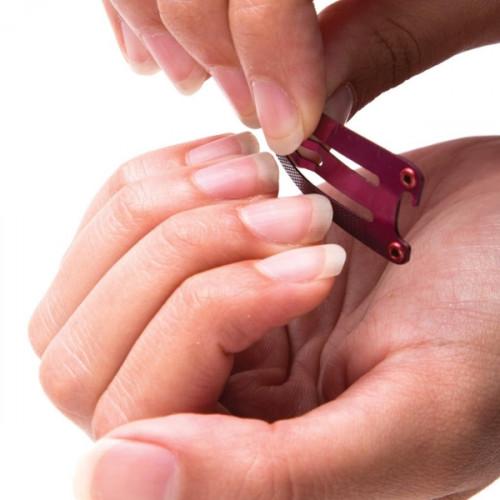 CLIPPA - סט כלי עבודה בעיצוב סיכת ראש-ורוד