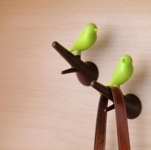 מתלה- זוג ציפורים QUALY