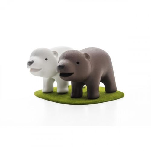 מלחייה ופלפליה זוג דובים - QUALY