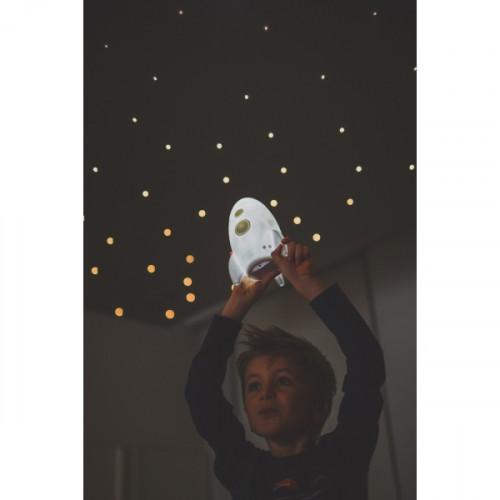 מנורת טיל LED לבן