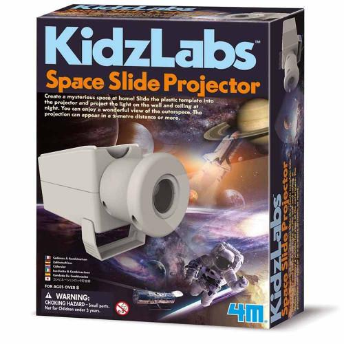 מעבדת הילדים - מקרן שקופיות חלל