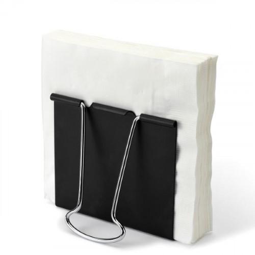 מעמד למפיות בצורת קליפס משרדי