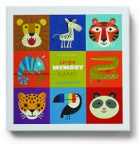 משחק זיכרון - ג'ונגל