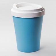 QUALY פח בעיצוב כוס קפה  - תכלת