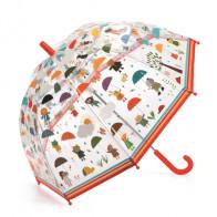 מטריה - חיות בגשם DJECO