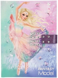 Fantasy BALLETT -Top Model  יומן מנגן עם קוד סודי