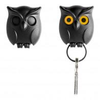 QUALY מתלה מפתחות - ינשוף שחור