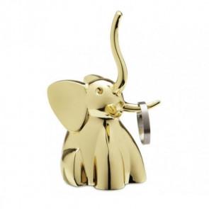 מעמד לטבעות ZOOLA פיל זהב