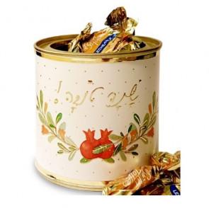 פחית ממתקים לראש השנה - שנה טובה