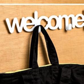 מתלה Welcome