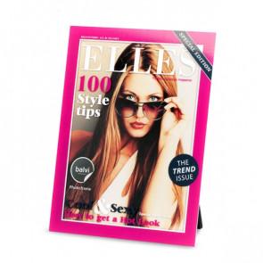 מסגרת לתמונה של מגזין אופנה
