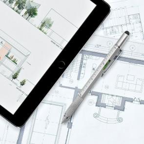 Architect Pen עט עם כלי עבודה ופלס