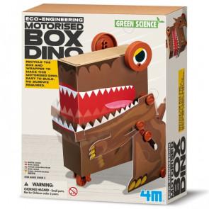 מעבדת הילדים - ערכת מדע ירוקה - דינוזאור קופסה