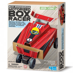 מעבדת הילדים - ערכת מדע ירוקה - מכונית קופסה