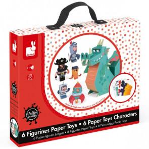 יצירת בובות נייר