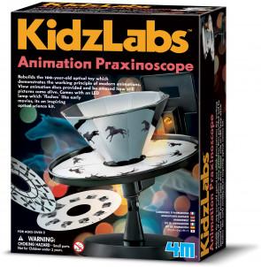 מעבדת הילדים - פרקסינוסקופ (מקרן) אנימציה