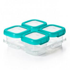 OXO TOT סט קופסאות אוכל לאחסון והקפאה - טורקיז