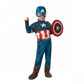 תחפושת בייבי קפטן אמריקה שרירי דלוקס הנוקמים של חברת רוביס