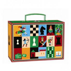 משחק שחמט ודמקה DJECO