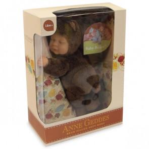 בובת בייבי דובי שוקולד - Anne Geddes