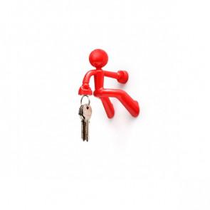שומר מפתחות מגנטי - KeyPete קי פיט-אדום