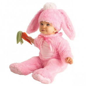 תחפושת בייבי ארנב ורוד לפעוטות של חברת רוביס