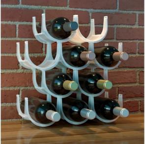 מעמד מודולרי לבקבוקי יין