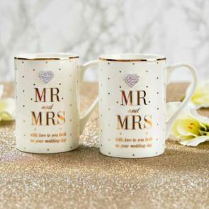 זוג ספלים - Mr. & Mrs